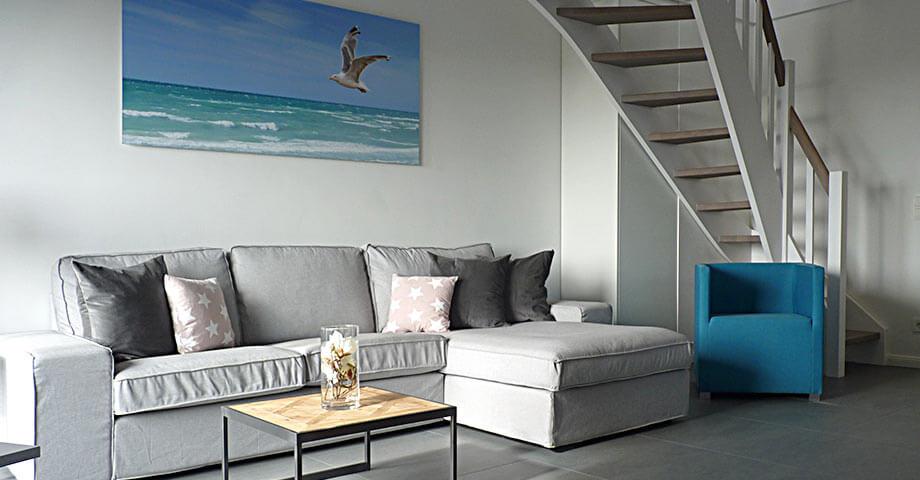 Modern eingerichtetes Appartement \